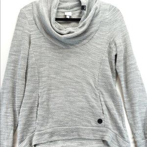 Bench cowl neck grey sweater small